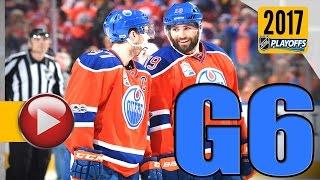 Anaheim Ducks vs Edmonton Oilers. 2017 NHL Playoffs. Round 2. Game 6. May 7th, 2017. (HD)