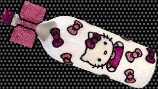 Hello Kitty Wine Bottle DIY | Requested