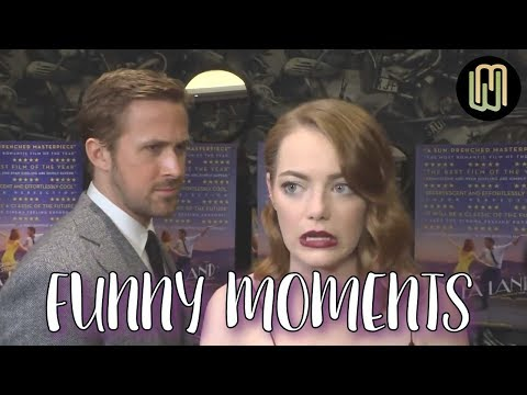 Ryan Gosling and Emma Stone Funny Moments PART 1 en streaming