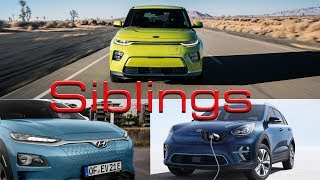 2020 Kia Soul EV Vs Kia Niro EV vs Hyundai Kona Electric. Same Car, Different Clothes?