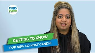 Getting to Know Our New Co-Host Gandhi | Elvis Duran Exclusive