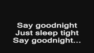download lagu Bullet For My Valentine - Say Goodnight Acoustic Lyrics gratis