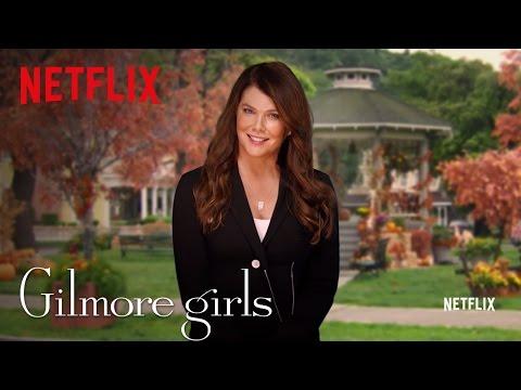 Gilmore Girls Global Announcement - Lauren Graham - Netflix [HD]