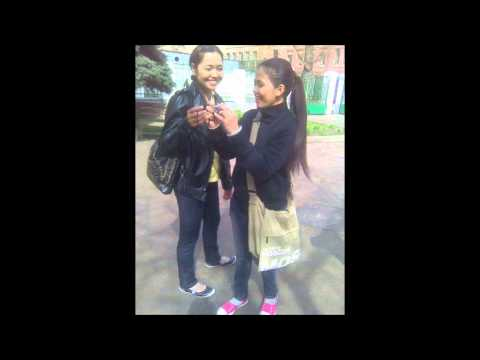 Philippine girls in Moscow