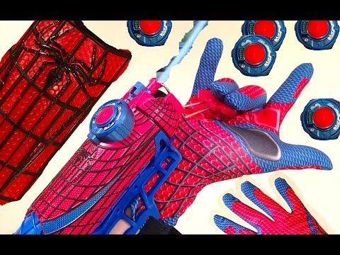 Web Shooter Toy. The Amazing Spiderman - A Funny Unboxing and Review