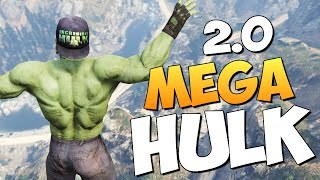 GTA 5 Mods : HULK - БЕЗУМНЫЙ ХАЛК!