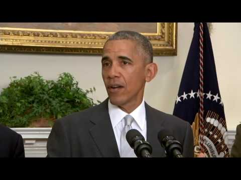Obama on U.S Troop Levels in Afghanistan