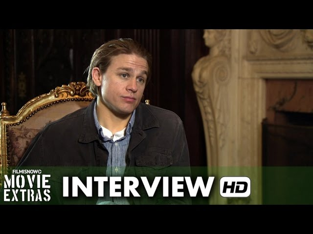 Crimson Peak (2015) Behind the Scenes Movie Interview - Charlie Hunnam is 'Dr. Alan McMichael'