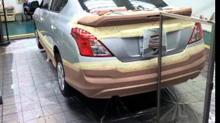 The Making of Nissan Almera Body Kit By Parto