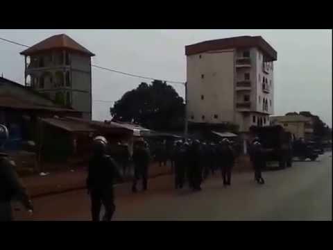 Manifestations du jeudi 7 mai 2015 à Conakry: Des accrochages signalés...