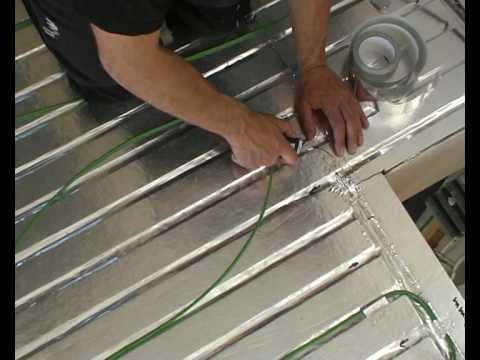 Varmekabler rett på betong