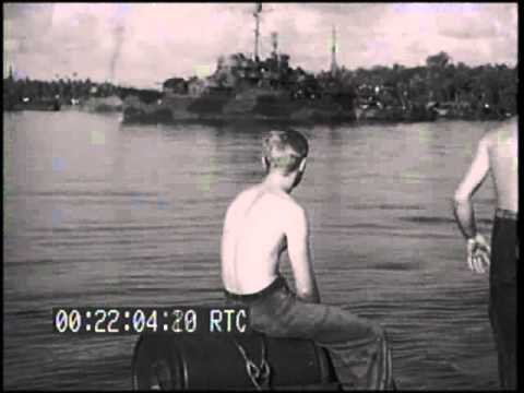 PT BOAT OPERATIONS & MARINE FUNERAL SERVICE