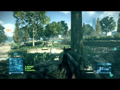 Battlefield 3 (Open Beta) Gameplay - Primeiras Impressões HD // Parte do Parque