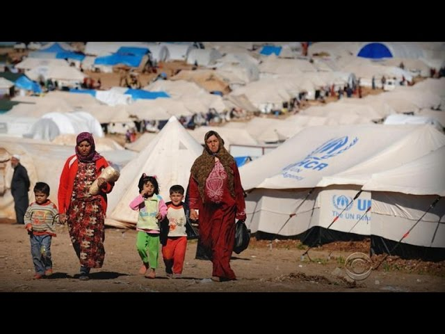 Inside the world of Syrian refugees