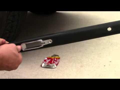 Aircraft Aluminium Detachable Magazine Box Durability Test