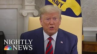 President Donald Trump Blasts Growing Whistleblower Firestorm As 'Ridiculous' | NBC Nightly News