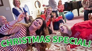 CHRISTMAS FAMILY PARTY! | Ellie and Jared Christmas Special 2017
