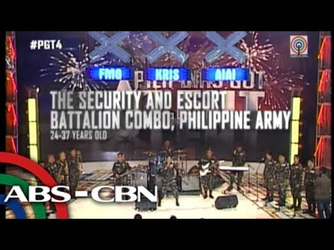 Soldier-musicians wow crowd on 'PGT 4'