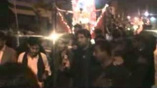 Saeed ALi Karbali in Juloos 10 Muharam jacobabad,(Student Of Syed Nadeem Sarwar)2010
