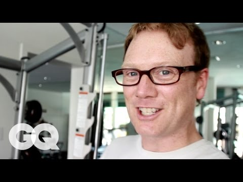 Comedian Andy Daly Shows Jason Nash How to Get in Shape - GQ s How to Be a Man