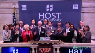 Host Hotels & Resorts, Inc. Visits the NYSE