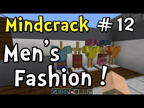 Minecraft Mindcrack | S5E12 | Mens Fashion Leather Shop!