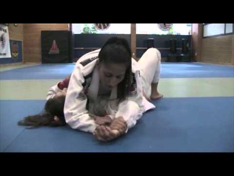 Grappling (Gi) - Key Lock from Mount