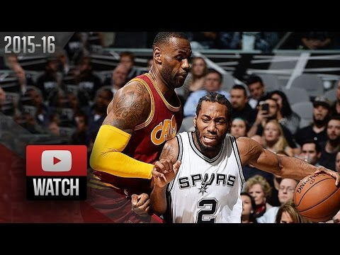 Kawhi Leonard vs LeBron James DUEL Highlights (2016.01.14) Spurs vs Cavaliers - SICK!