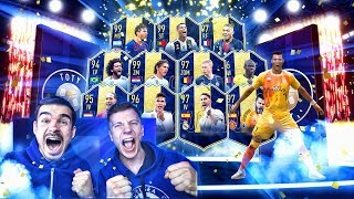 FULL TOTY XXL PACK OPENING + FUT CHAMPIONS REWARDS !! 🔥🔥🔥