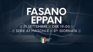 Serie A1M [3^]: Fasano - Eppan 31-27