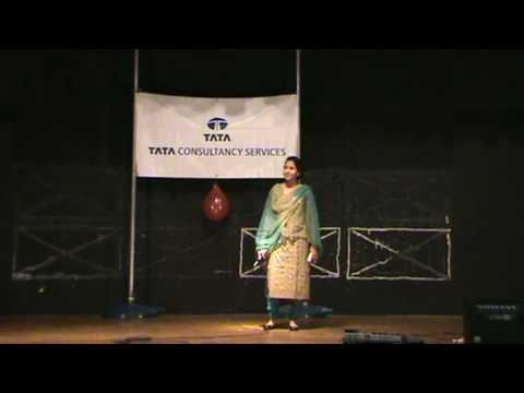TCS Diwali Party 2009 - Rupali - Mujhe pyar tumse nahi hai nahi...