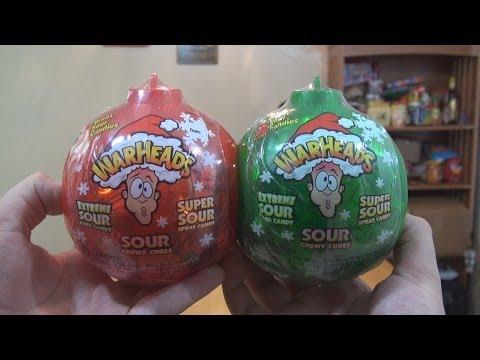 Warheads Christmas Ball Challenge
