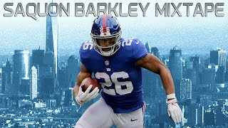 Saquon Barkley's EPIC Rookie Mixtape! | NFL Highlights