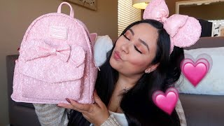 MILLENNIAL PINK DISNEY BACKPACK | IS IT WORTH THE SPLURGE? | JESSICA CANON