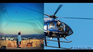 Compilation of Riverside Police Departments Aerial Support Air1 Aerial Photography