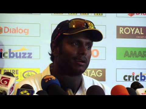3rd Test, Post Match Press Conference - Angelo Mathews after losing the Test Series