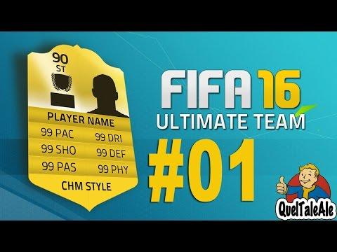 Fifa 16 Ultimate Team - Gameplay ITA - FUT Ps4 #01 - Spacchettiamo e partiamo
