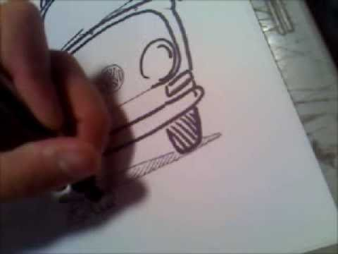 Drawing a Vw Bus