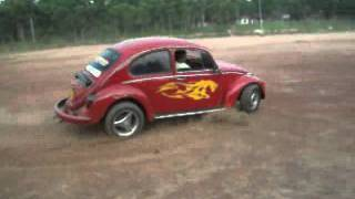CrAzY DrIvInG Part 1 ( VW Beetle & mitsubishi celeste )