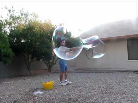 Largest Soap Bubble Biggest Soap Bubbles
