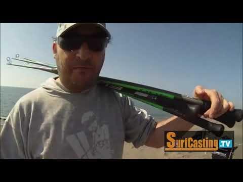 "Framimma per SurfCasting TV – Battuta di pesca su una spiaggia ""top secret"" (parte 1)"