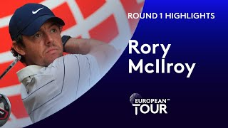 Rory McIlroy finishes 5 under par | Round 1 | 2019 WGC-HSBC Champions