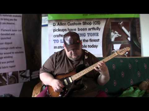 Johnny Hiland play/reviews DAllen Humbuckers HSH