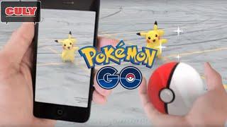 Trò chơi thử bắt Pokemon Go tại nhà không cần đi chuyển | Cu lỳ chơi game #6 | Pokemon Go gameplay