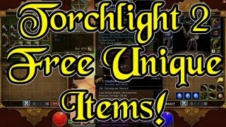 Torchlight 2 Exploit Gives You Unlimited Unique Items For Free! - Duros the Blade, Gambler Glitch