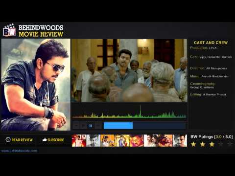 Kaththi Movie Review - BW