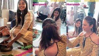 Pooja Hegde and Rakul Preet Singh Dussehra Celebrations  #PoojaHegde  #RakulPreetSingh