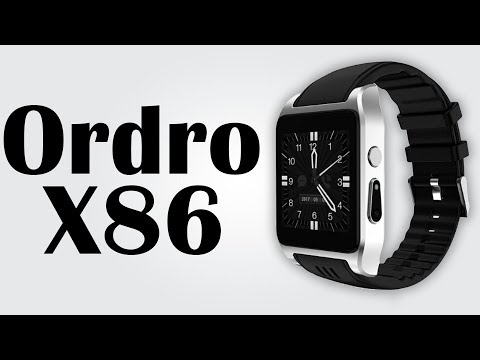 Ordro X86 3G Smartwatch - 1.54 inch / Android 4.4 / 0.3MP Camera / Heart Rate Monitor WiFi Pedometer