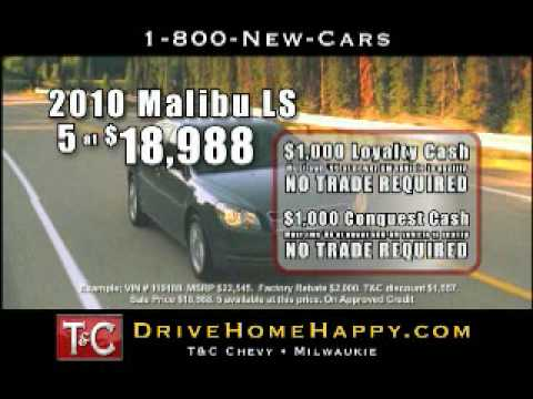 Town & Country Chevrolet has 2010 Malibu LS models for $18988 Video