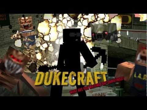 DukeCraft Trailer - Duke Nukem 3D Minecraft Texture Pack Mod (NOW AVAILABLE!)